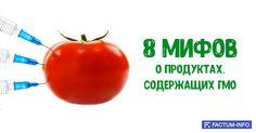 ➡️ https://factum-info.net/zabluzhdeniya/eda/270-8-mifov-o-produktakh-soderzhashchikh-gmo #факты #интересныефакты #открытка #открыткадня #ГМО #вред #польза #продукты #интересно #FactumInfo