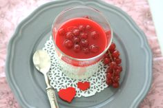 #valentine'sday #pannacotta #currant #ribes #softfruits #dessert #red #recipe #food #love #heart #happyvalentine