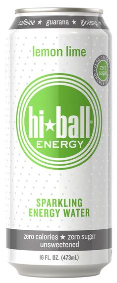 Hiball Energy Drink, I love this stuff. Unsweetened, not sweetened with fake sugar, actually unsweetened.