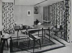 Salon vintage polonais années 60 designer Kruszewska Teresa