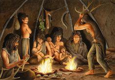 ¿Como vivían en las sociedades prehistóricas?
