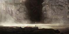 Cave of the Old Ones, Y - mir on ArtStation at https://www.artstation.com/artwork/6228W