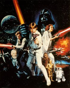 Star Wars 1977; Man, the space opera of our times, and many years of loving a certain Princess...