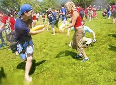 Water Games on the Lawn @ Menomonie Public Library Thursday, July 18th at 4pm. Don't forget your towel!