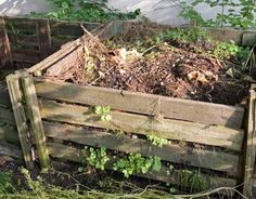 compost pile in garden  http://www.thedailygreen.com/green-homes/latest/organic-gardening-tips-460309#