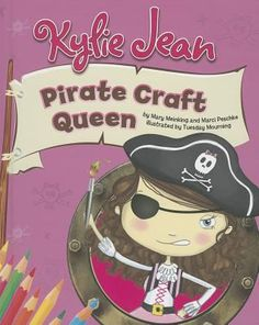 Arrrrrr, mateys! It's Kylie Jean. Did I tell you about the time I was a pirate queen? You can be a pirate queen too! Make a pirate queen hat, a treasure chest, and even your own loot bag. Shiver me timbers!
