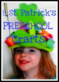 Kids Activigties for Saint Patrick's Day. 8 Fun Saint Patrick's Day craft activities for preschool. March Crafts, St Patrick's Day Crafts, Easy Crafts For Kids, Craft Activities, Preschool Crafts, St Patricks Day Parade, St Paddys Day, Luck Of The Irish, St Pattys