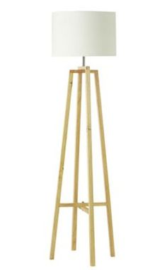 Buy colourmatch stick floor lamp lagoon at argoscouk for Argos wood floor lamp