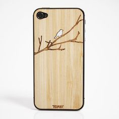 Bird On A Branch by Toast. Made in Portland, Oregon, from laser-cut wood