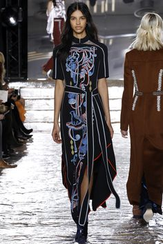 you can count on color at Peter Pilotto FW2016 - love the movement as well