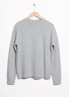 & Other Stories image 1 of Knit Sweater in Light Grey