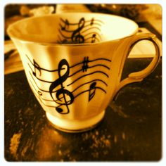 Tea with tunes  copyright Maria Long