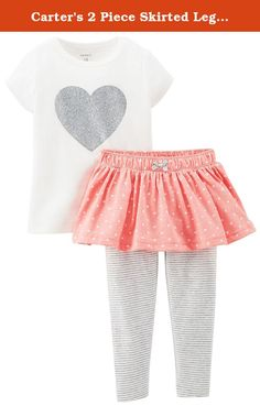 Carter's 2 Piece Skirted Legging Set (Baby) - Ivory-6 Months. 2 Piece Skirted Legging Set (Baby) - Ivory Carter's is the leading brand of children's clothing, gifts and accessories in America, selling more than 10 products for every child born in the U.S. Their designs are based on a heritage of quality and innovation that has earned them the trust of generations of families.