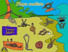 Una playa nudista ;)