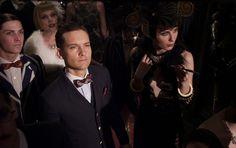 The Great Gatsby (2013) | Toby Maguire (Nick Carraway) and Elizabeth Debicki (Jordan Baker).