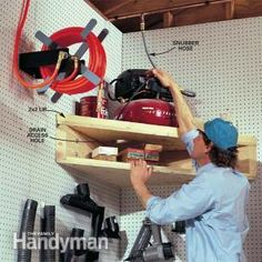 Small Workshop Storage Solutions | The Family Handyman