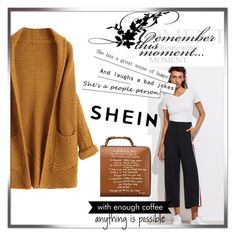 """""""Shein"""" by dila-12 ❤ liked on Polyvore featuring Tory Burch and WALL"""
