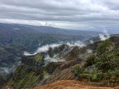 Wunderschöne Aussicht und der Nebel macht alles noch spezieller.