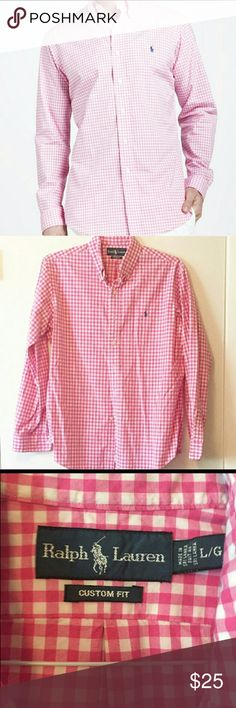 Ralph Lauren Custom Fit Button down shirt Ralph Lauren Shirts Casual Button Down Shirts