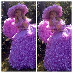 I love Dorothy's dress! Mrs. Nelda made hers too!