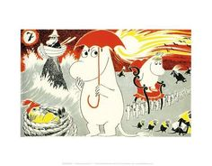 The Moomins Comic Cover 7 Posters by Tove Jansson at AllPosters.com