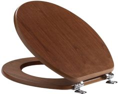 You can get toilet seats in a variety of different woods. Walnut is one of our favourites.