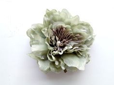 Vintage sage green peony - millinery supplies Large Flowers, Pink Flowers, Jenny Johnson, Little Girl Costumes, Millinery Supplies, Button Flowers, My Little Girl, Daughter Love, Calla Lily