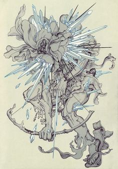 gaksdesigns:  James Jean forLinkin Park's The Hunting Party
