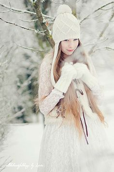 "Winter *❄~*.Wishes & Dreams.*~❄* ""Magical pastel days wrapped in snowy silence. . . "" ~M"
