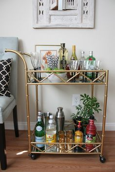 OPEN BAR! 6 Amazing Home Bars & Drink Cart Ideas ~ Marketplace Events