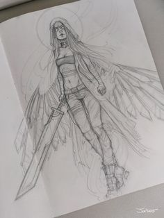 https://artstation.com/artwork/angel-sketch