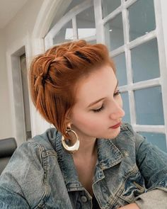 hairstyles model hairstyles cute hairstyles ponytails braided hairstyles you need to try hairstyles kenya hairstyles up in one hairstyles games online hairstyles 2019 with beads Short Hair Styles Easy, Braids For Short Hair, Cute Hairstyles For Short Hair, Bob Hairstyles, Short Hair Cuts, Medium Hair Styles, Braided Hairstyles, Curly Hair Styles, Natural Hair Styles