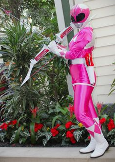 Photo of Cendrillon cosplaying Pink Ranger (Mighty Morphin' Power Rangers) Power Rangers Cosplay, Pink Power Rangers, Cool Costumes, Cosplay Costumes, Cosplay Ideas, Pink Ranger Kimberly, Kimberly Hart, Pawer Rangers, Anime Drawing Styles