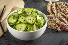 Quick and easy Asian cucumber salad