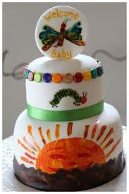 Image result for hungry caterpillar cake patterns
