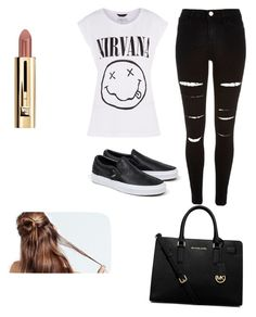 """""""6th may-2015"""" by h-peeringa on Polyvore featuring River Island, Vans and MICHAEL Michael Kors"""