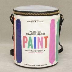 Kate Spade Brush Stroke Paint Bucket Bag