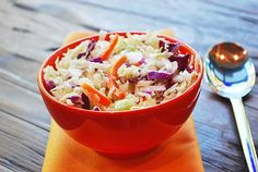 ASIAN CABBAGE SALAD 1 (16oz) bag coleslaw mix (white and red cabbage and shredded carrots) Dressing: 1 tablespoon sesame oil 1 tablespoon apple cider vinegar 1 tablespoon light soy sauce 1/4 teaspoon black pepper
