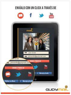 Lo último en comunicación y nuevas tecnologías: GudyMail  ya disponible para Ipad.