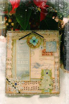 Vintage Christmas Box
