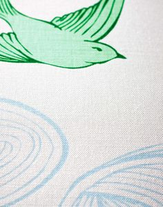 Daydream (Green) Fabric from Hygge