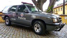Chevrolet Blazer MP - Polícia Militar do Estado de São Paulo