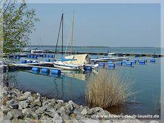 Yachthafen am Geierswalder See im Lausitzer Seenland