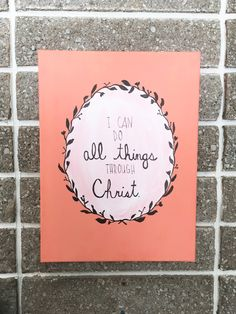 Canvas Scripture Painting by MyGoldenAarow on Etsy