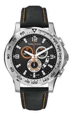 Amazon.com  Nautica A19606G - Men s Watch 60903506746