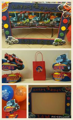 Blaze and the Monster Machines party ideas..