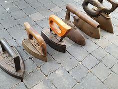 Stare żelazka żeliwne