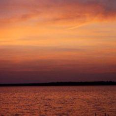 Sunset in Lake City, MI
