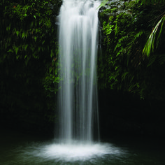 Puerto Rico. One romantic thing I want to do on my honeymoon is to swim under a waterfall. <3