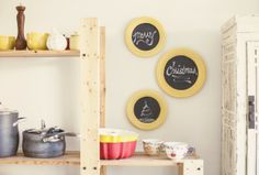 How to re-purpose thrift store dishes into fresh, customizable wall decor - FOLK Lifestyle